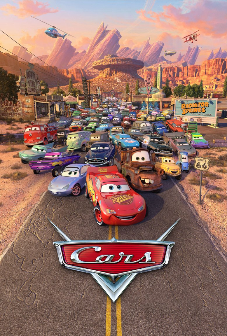 Poster do Filme Carros da Disney Pixar