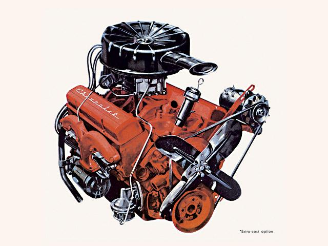 Ch Chevy Small Block Motor Z