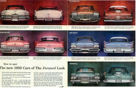 A era do forward look de Virgil Exner
