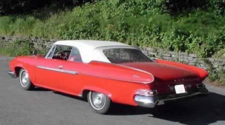 O Dart Phoenix conversivel para 1961