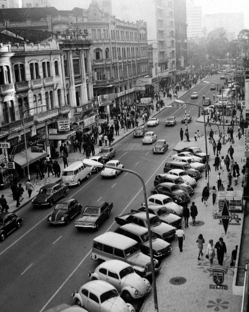 Curitiba, anos 70