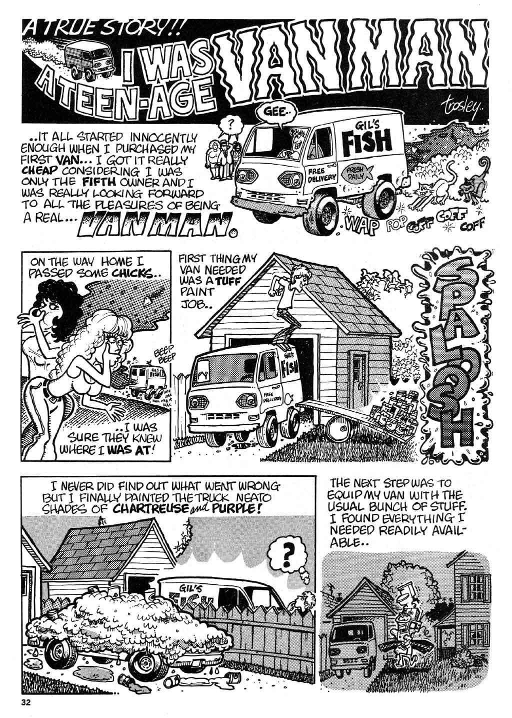 Hot Rod Cartoon 1973 Voitures anciennes-8483
