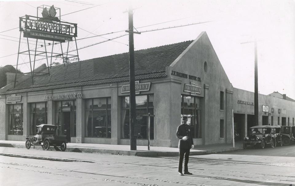 J. V. Baldwin Motor Co.