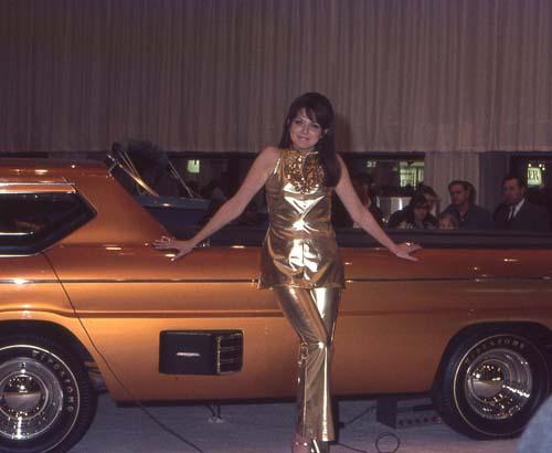 Chicago Auto Show 1968 Carros Antigos