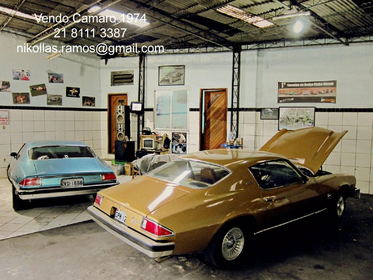 Vende-Se: Camaro Type LT 1974