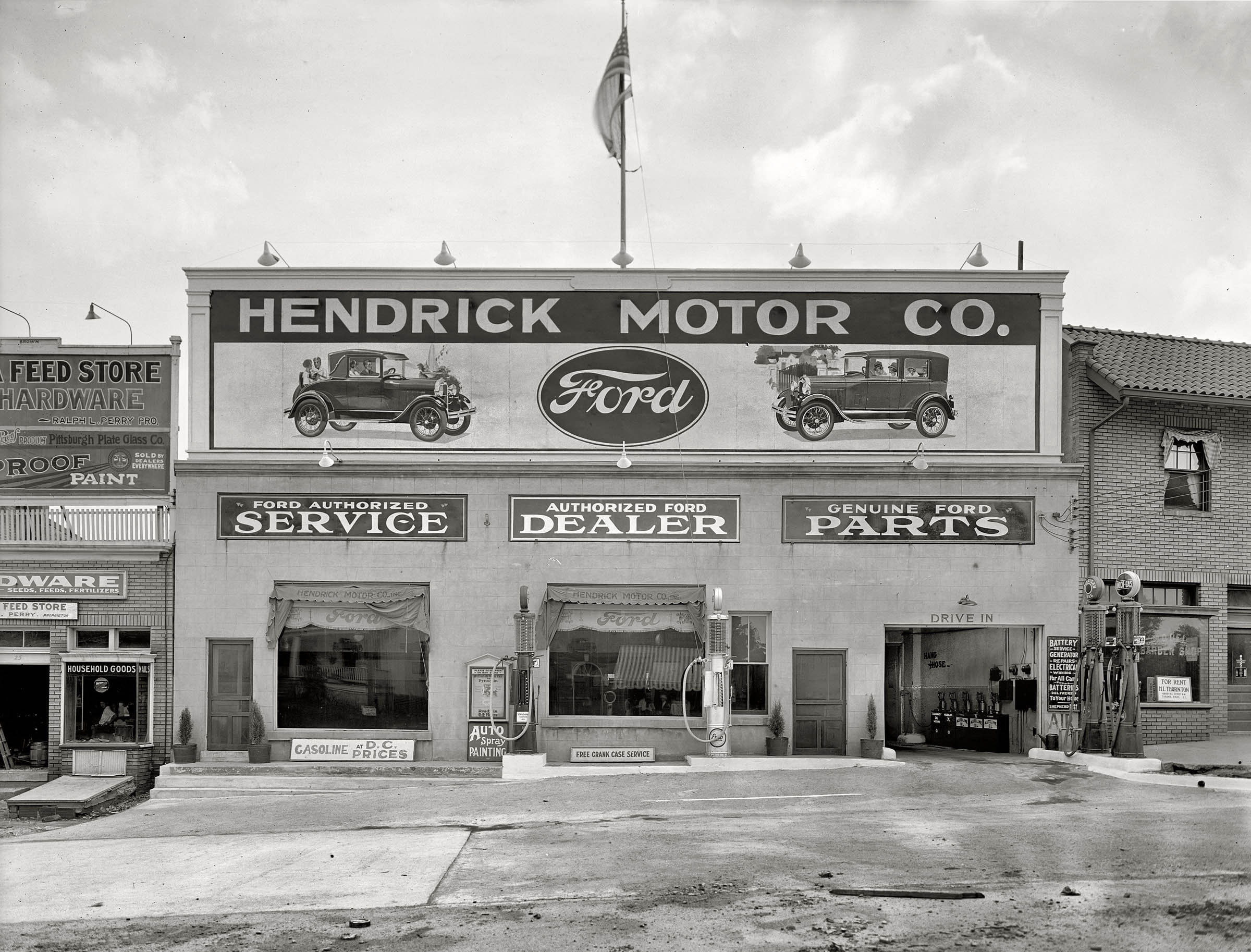hendrick motor co authorized ford dealer carros antigos