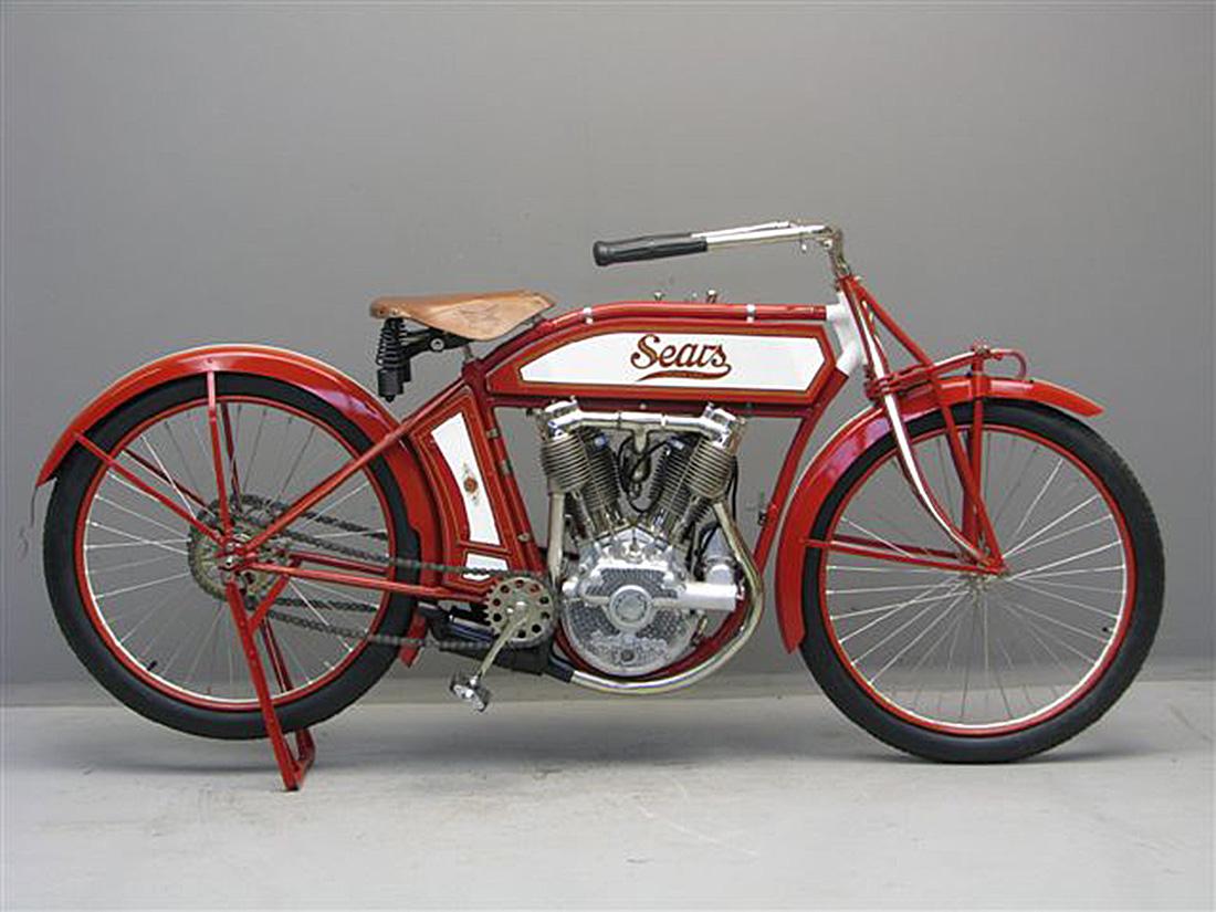 1913 Sears Motorcycle Carros Antigos