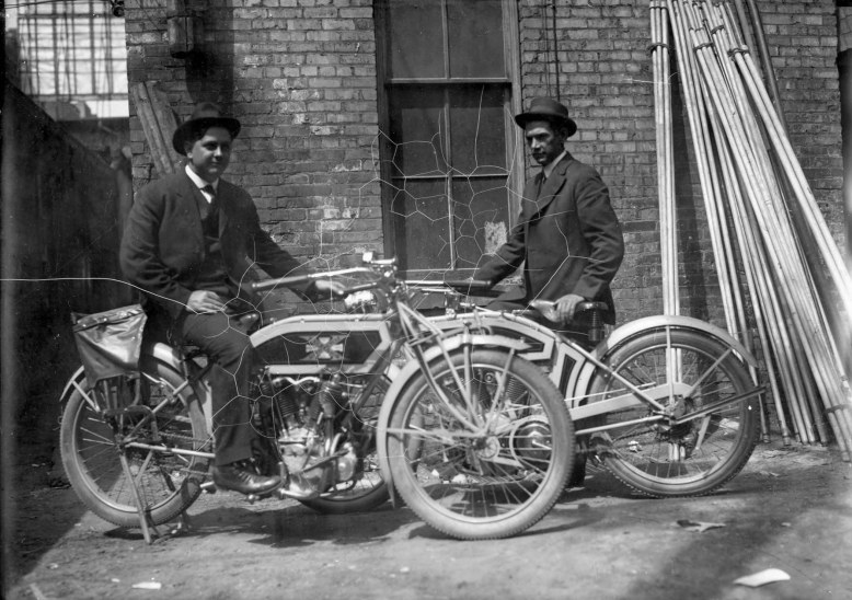 Motorcycling P.1 __ Utah State Historical Society - Classified Photographs