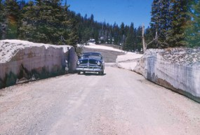 1950 Ford Vintage Car Entering Cedar Breaks Utah in 1952 Original Slide Photo | eBay