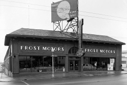 Frost Motors Ford dealership, Peachtree Street __ Lane Brothers Photographs-1