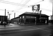 Frost Motors Ford dealership, Peachtree Street __ Lane Brothers Photographs
