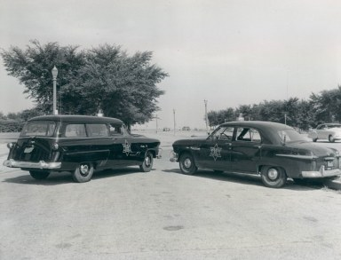 Photo_ 1951 & 52 Fords- Chicago Park District Police | Chicago Police vehicles up to 1959 album | copcar dot com | Fotki.com, photo and video sharing made easy.