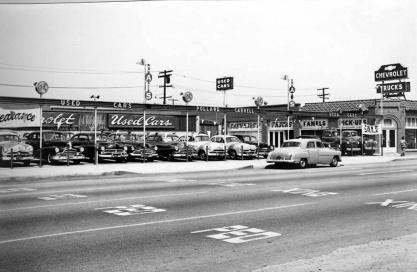 Pollard Carrell Chevrolet __ San Fernando Valley History-1